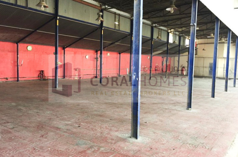 Commercial Land With Open Shed For Car Service, Garage, Etc.