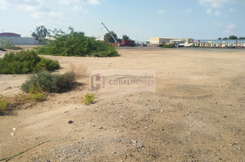 Main Road Open Land Power Can Be Provided