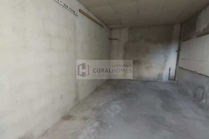 Garage Space With Open Shed And Office