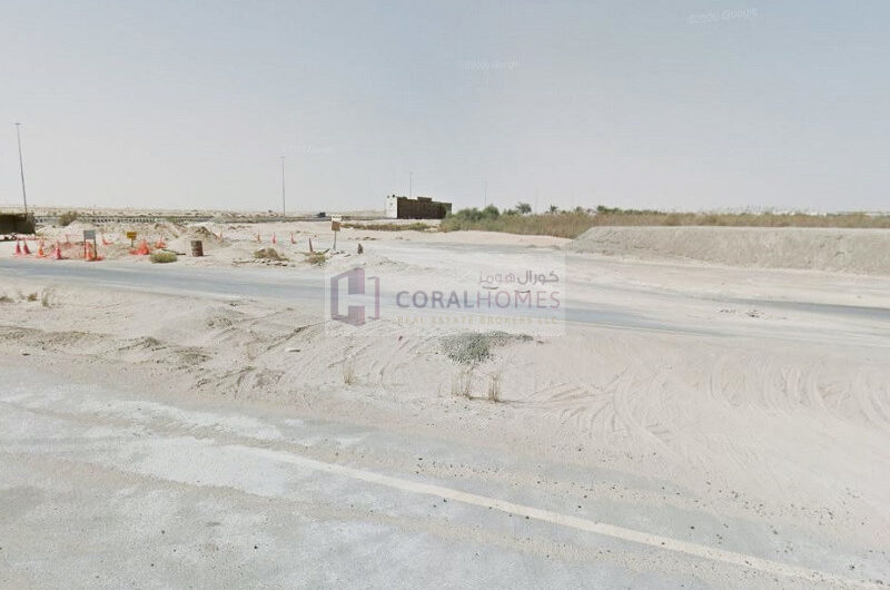 Leasehold Plot For Warehouse Permission At AED 50 Per Sq.Ft